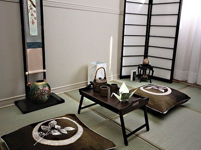 Minimalist japanese style interior designs - love this idea