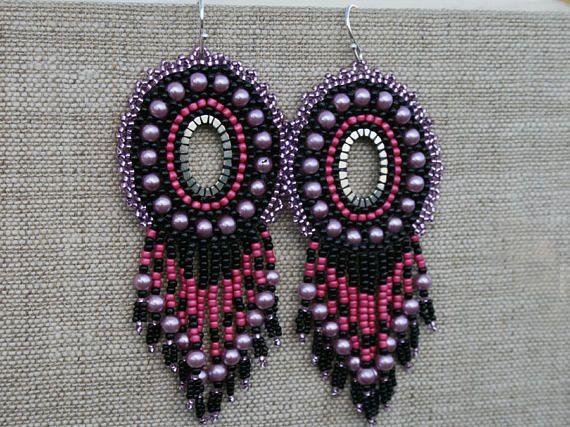 CHANDELIER EARRINGS victorian  DANGLE earrings statement  long