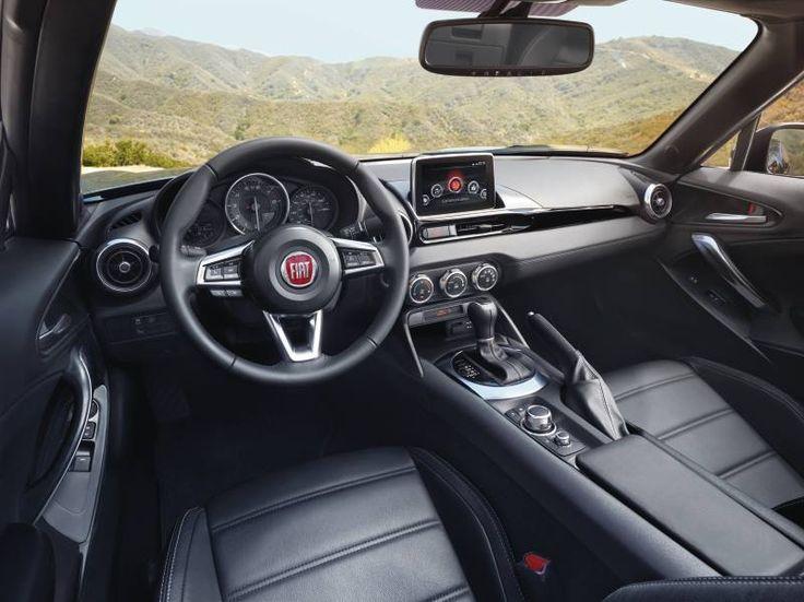 Wnętrze Fiata 124 Spider przyćmiewa najpiękniejsze krajobrazy. #Fiat #Fiat124Spider