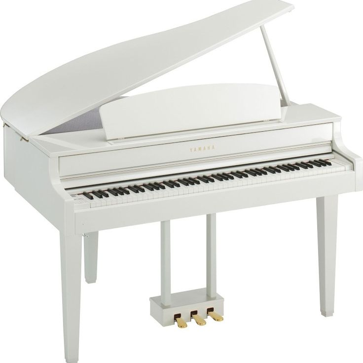 Yamaha Clavinova CLP565GPWH Grand Piano White Digital Piano Music Express