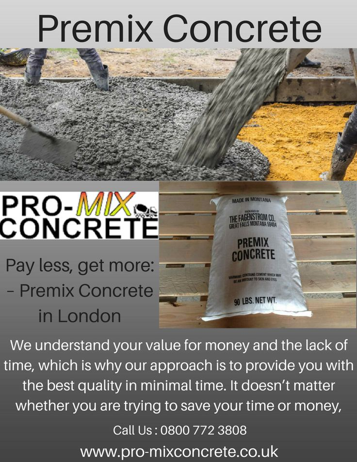 Pro-mix Concrete can be the best for both. It not only saves your time but also reduces the cost of transportation of the bags, renting a mixture and the cost to hire people to do the mixing. If not about all that, it also guarantees you good quality with consistency. Call @Pro-Mix concrete at 0800 772 3808 now
