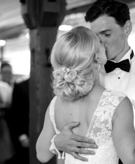 Lisa + David wedding do