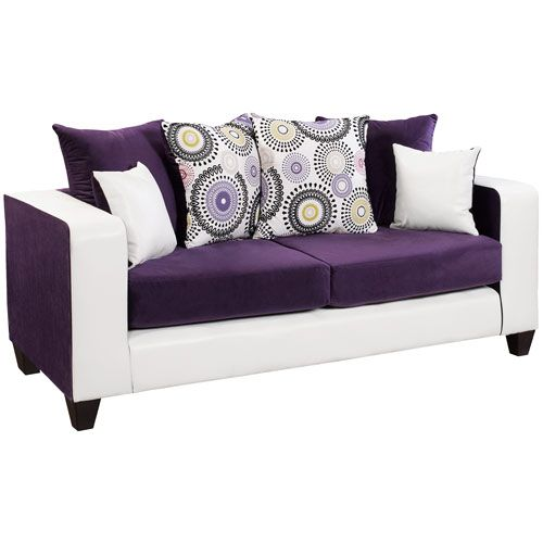 Purple Couch: 1000+ Ideas About Purple Sofa On Pinterest