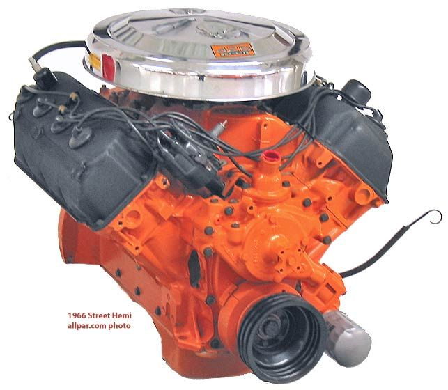 Top 10 Engines of All Time (#2): Chrysler 426 HEMI - OnAllCylinders