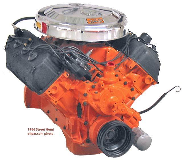 Top 10 Engines of All Time (#2): Chrysler 426 HEMI - OnAllCylinders
