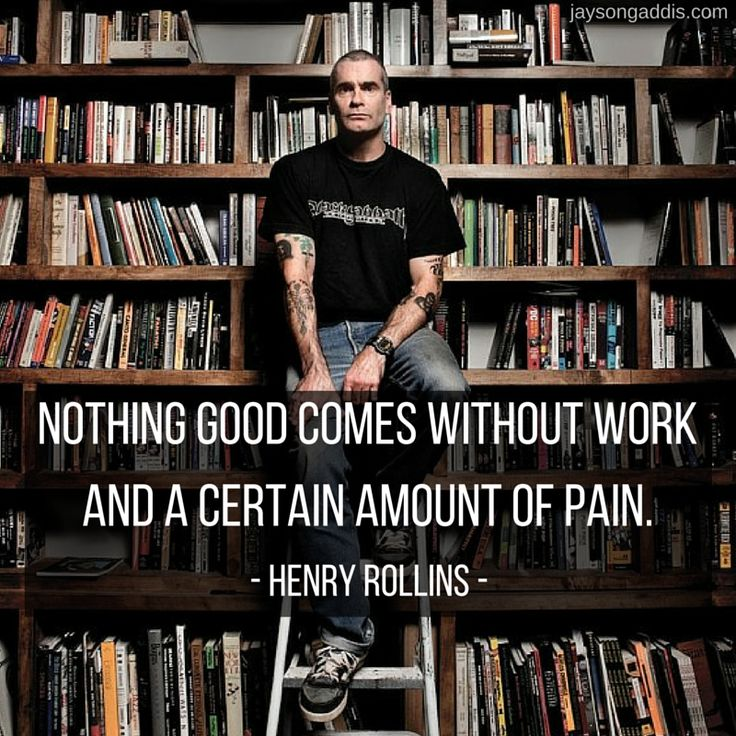 Henry Rollins The Iron