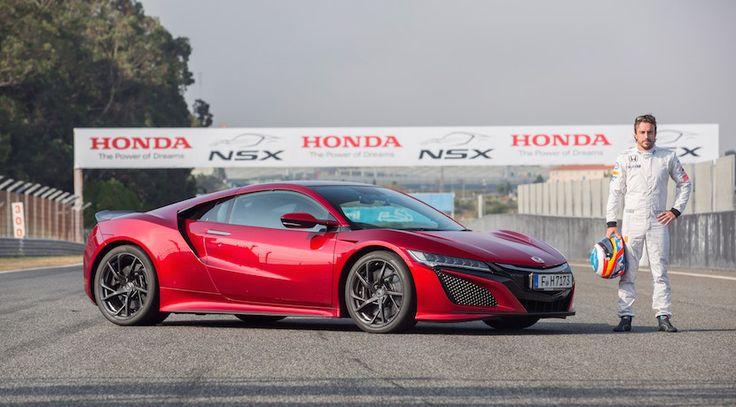 Fernando Alonso ya ha rodado con el Honda NSX en Estoril # El Honda NSX es el nuevo deportivo nipón que comenzó su producción el pasado mes de abril y que llegará a Europa este mismo otoño. El impresionante coupé se produce en exclusiva en elPerformance Manufacturing …