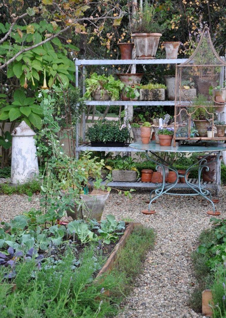 Absolutely Beautiful Things: Garden Pots Inside
