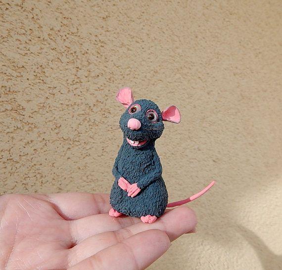 Ratatouille 'Remy' Remy the rat Disney Animals от ViaLatteaArt