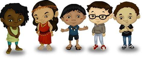 Esta enlace contiene actividades para enseñar a los niños las diferentes lenguas hablado en Colombia. Según de Portal de Lenguas de Colombia, además del Español, los colombianos se hablan 65 lenguas indígenas, dos lenguas criollas, una lengua romanés, y se usa una lengua de señas. También contiene información sobre las diversas comunidades del país.