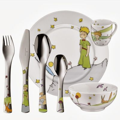 Vajilla The Little Prince baby food set