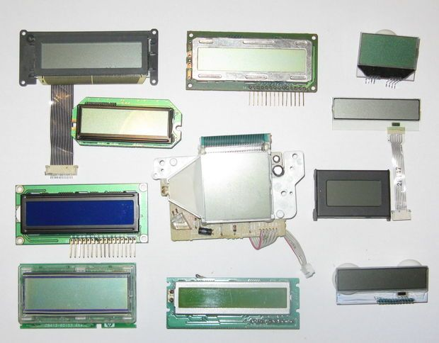 Salvaging Liquid Crystal Displays (LCDs) for Arduino by Josehf Murchison