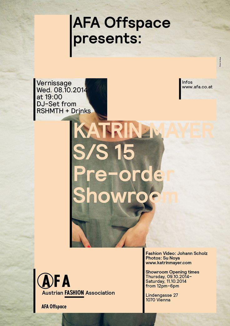 Austrian Fashion Association Posters – studio VIE
