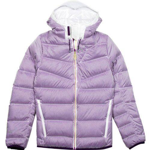 Puma Women's 800 Down Hood Warmcell Jacket , Blackberry Cordial, Medium Warming technology. Puma logo branding. Training gear.  #PUMA #Sports