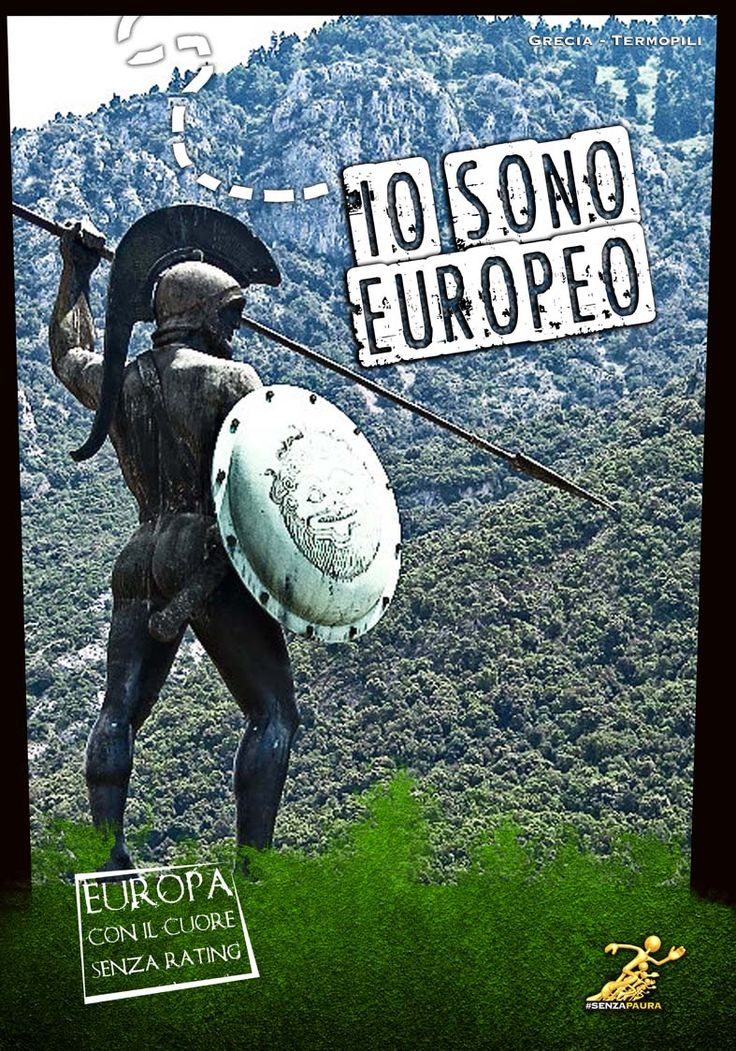 Io sono Europeo - Mostra ad Atreju 2012 - Termopili