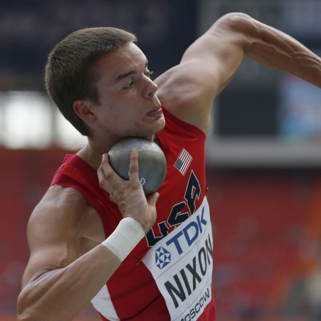 MOSCOW (AP) — Gunnar Nixon, a 20-year-old American competing in his first major event, seized a big lead after four events of the decathlon at the world championships on Saturday.The world junior champion went