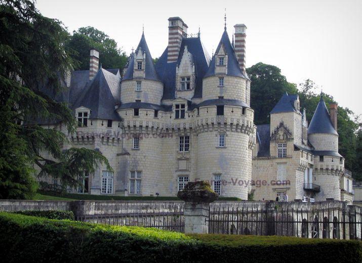 Château+d'Ussé:+Château+en+pierre - France-Voyage.com