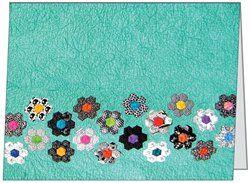 Grandmother's Flower Garden Quilt card