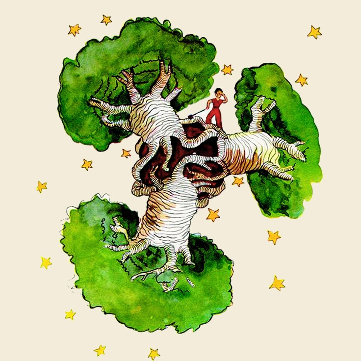 The Little Prince planet