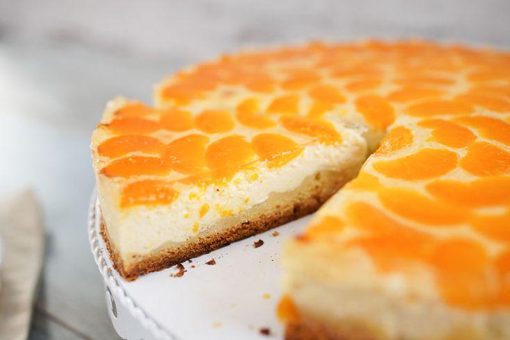 Mandarinen-Schmand-Kuchen mit Vanille & genialem Guss