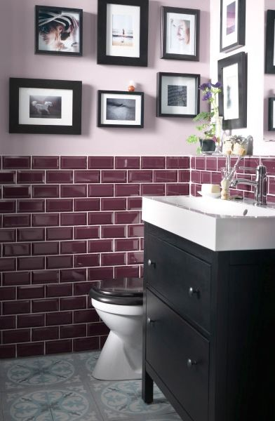 Who says a small bathroom can't be stylish? This  HEMNES black brown sink cabinet with 2 drawers adds a touch of traditional style and helps store anything you need nearby.