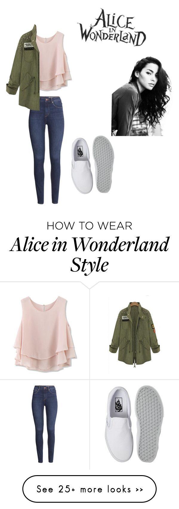 [ Novembre n°2 ]Chemise rose pâle,Veste kaki,Slim jean,Vans blanche,Cheveux frisé.