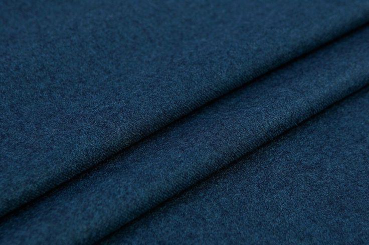 Pure Wool Fabric Denim Fabric Thin Wool Twill Pattern