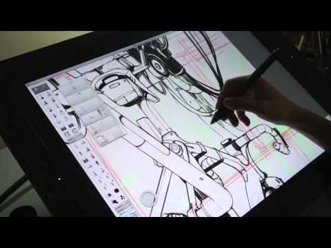 Sketchbook Pro has a great YouTube channel