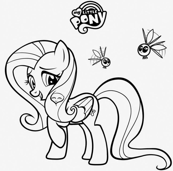 149 Best Images About To Color On Pinterest Princess My Pony Coloring Pages Fluttershy Equestria Free