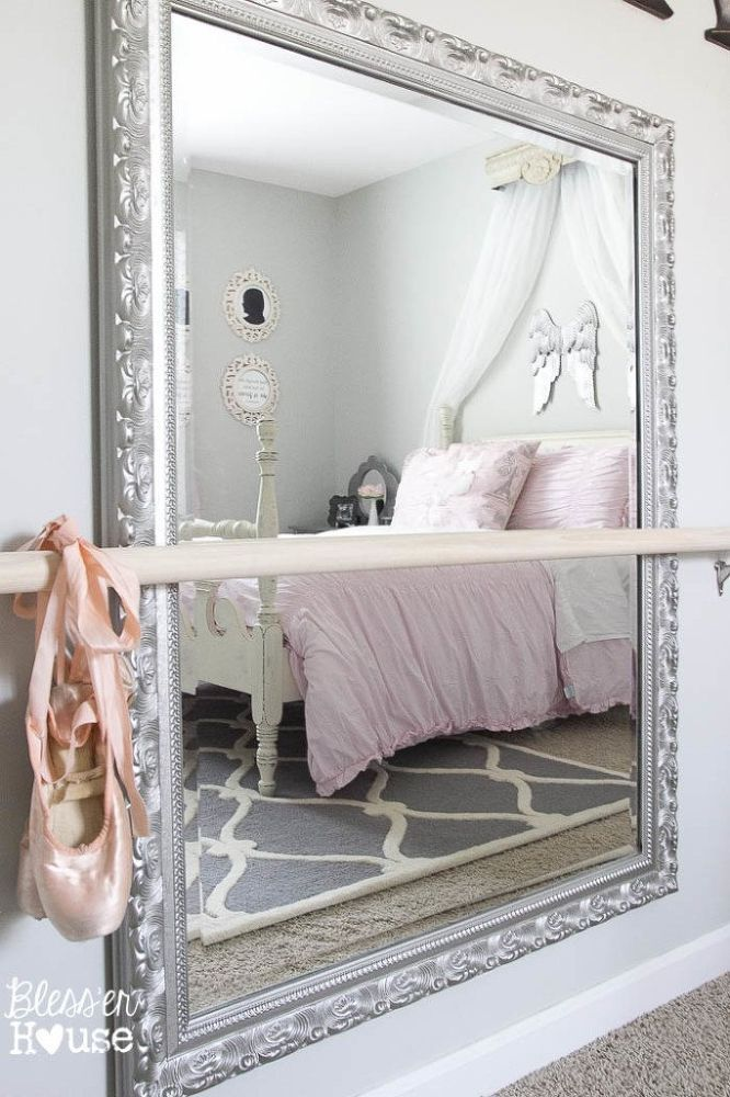 A Budget Little Girl Ballerina Bedroom (Worthy Of The Royal Princess)