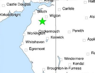 Earthquake detected near Aspatria http://www.cumbriacrack.com/wp-content/uploads/2017/04/aspatria-earthquake.jpg The British Geological Survey have confirmed that an earthquake has occurred near Aspatria today.    http://www.cumbriacrack.com/2017/04/27/earthquake-detected-near-aspatria/