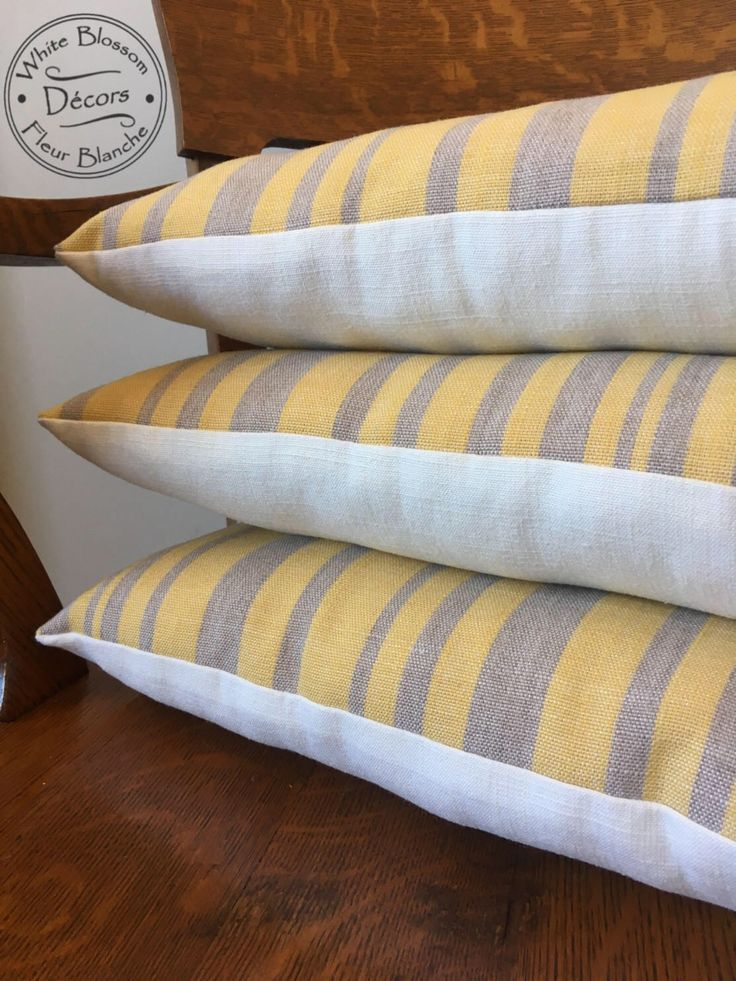 A personal favorite from my Etsy shop https://www.etsy.com/ca/listing/540684847/grey-yellow-rectangle-striped-8inx16in