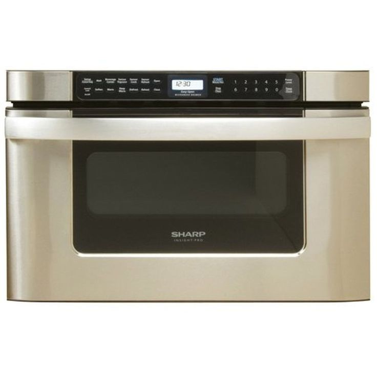 Sharp Kb-6524Ps 24-Inch Microwave Drawer Oven Stainless