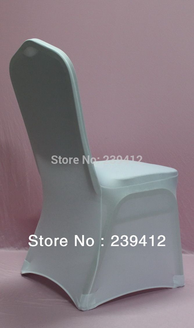 100pcs hot sale universal white lycra wedding chair coverwholesale spandex chair cover for event