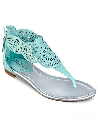 GUESS Womens Shoes, Rolisa Thong Sandals - GUESS - Shoes - Macys