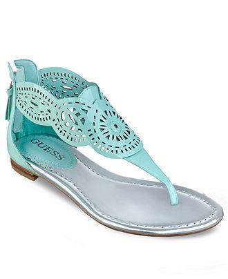 GUESS Womens Shoes, Rolisa Thong Sandals - GUESS - Shoes - Macys