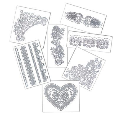Buy Tattered Lace Hidden Surprises Die Collection from CreateAndCraft.tv