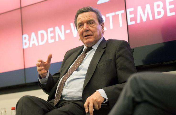 """Schröder über Merkel: """"Ich hätte nicht gesagt: Wir schaffen das"""" - SPIEGEL ONLINE - Politik"""