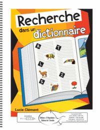 Recherche dans un dictionnaire
