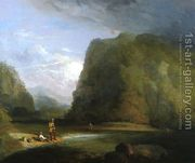 Trout Fishing in Sullivan County  by Henry Inman