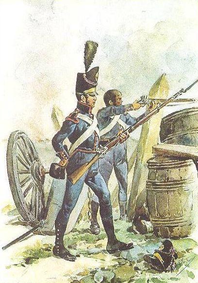 Portugal - 1760 1830 Arthuro 1 - Soldat du Regiment de Artillerie 1806