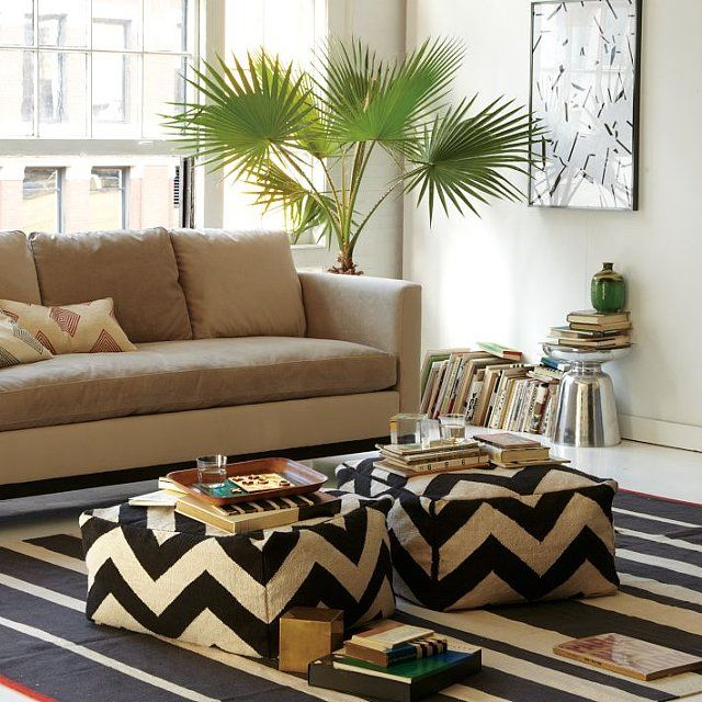 6 Stylish Ways to Add Extra Seating For the Super Bowl: When you live in a small space or entertain frequently, finding solutions for extra seating is essential.