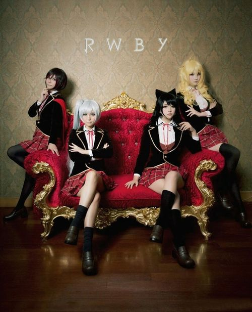 RWBY cosplay girls