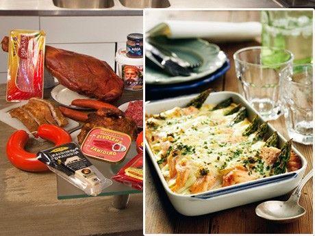 """För dig som har valt att följa LCHF kommer här sju recept hämtade från kokböckerna """"Kokbok GI-noll!"""", """"Ät fet mat – bli frisk och smal""""och """"Doktor Dahlqvist och Airams LCHF-kokbok""""."""