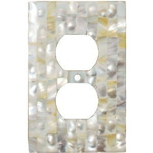 mother of pearl light switch plates outlet covers wallplates