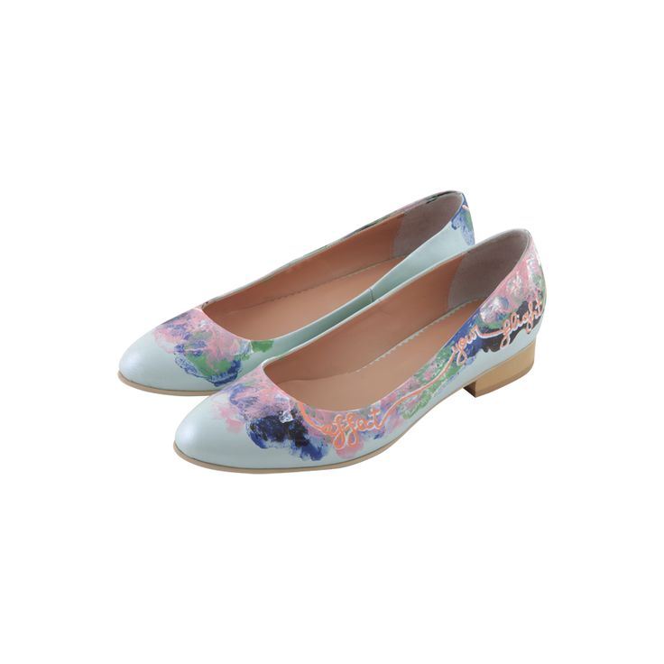 Butterfly Effect 2.Love this handpainted flats!