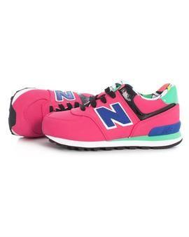 Zapatillas New Balance 574 Kids Rosa. Descubre nuestras New Balance en todos los colores que te puedas imaginar. #zapatillas #newbalance #niña #tiendaonline #moda