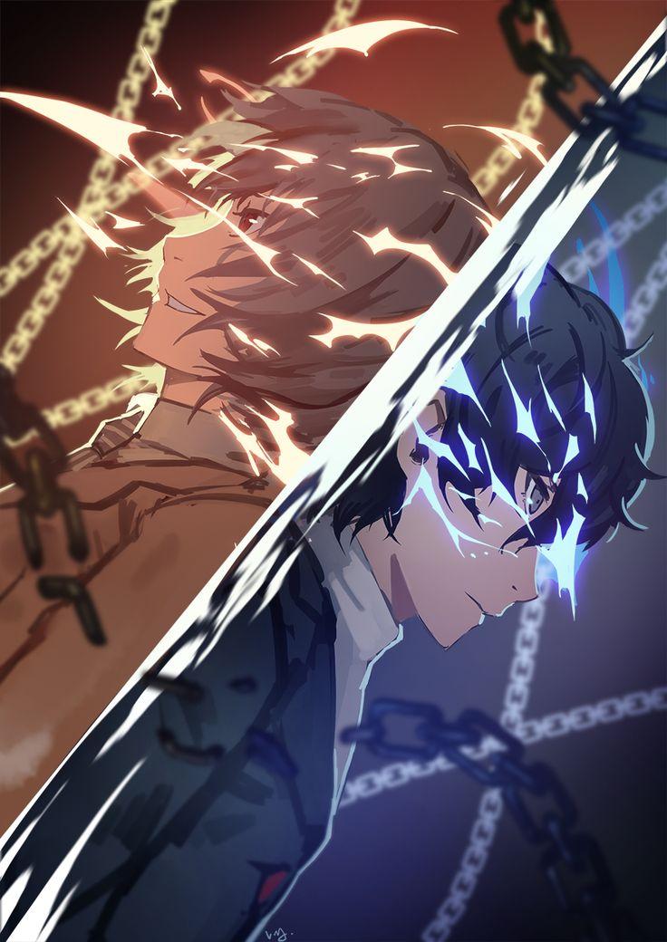 Artist: Nanaya (Daaijianglin) | Shin Megami Tensei: Persona 5 | Akechi Goro | Kurusu Akira
