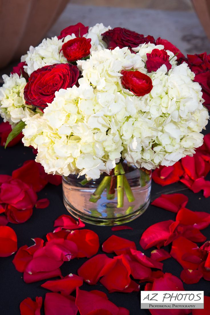 The best red rose centerpieces ideas on pinterest