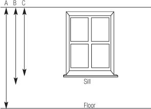 How to Measure for Curtains – Window Treatments «  Fittexpert – Curtain track and blind fitter.   Curtains are a big investment, and so it's important to make sure you get your measurements right.    To avoid mistakes, I would advise you install the curtain pole or track before measuring for the curtains.